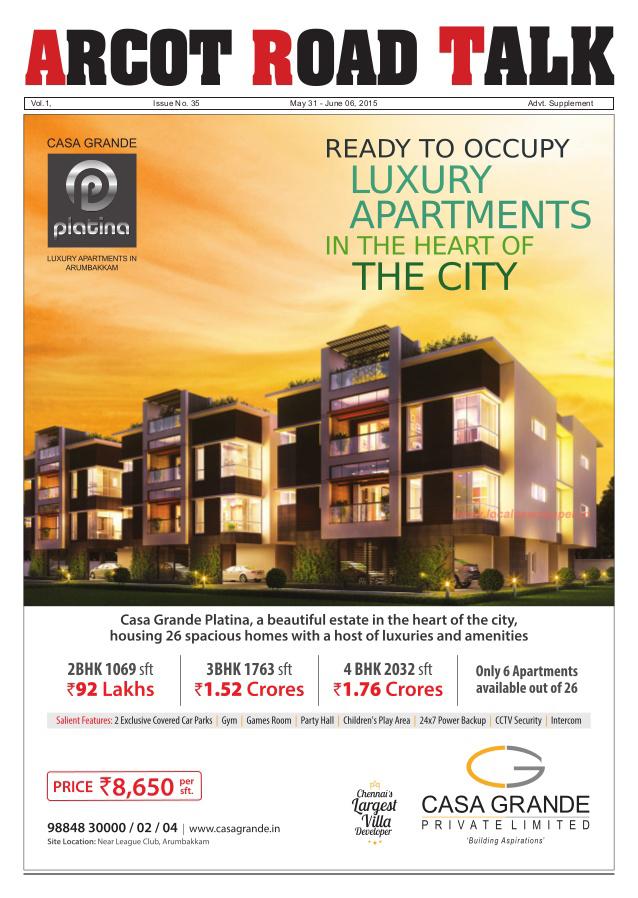 Properties in Arumbakkam Chennai